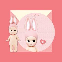 CIRCLE MESSAGE CARD-rabbit