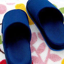 건강용 refre 지압 슬리퍼 남성용 블루