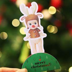 Christmas card - reindeer