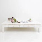 뉴질랜드소나무키작은테이블(White)