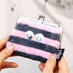 laugh laugh 코인 케이스-핑크그레이(따뜻해 보이는 동전지갑)