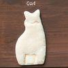 따뜻한 감촉의 스마트폰 스티커 Pet Skin[고양이모양(아이보리스킨)]