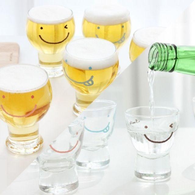 와글와글 소주잔