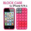 BLOCK CASE for iPhone4 4S 핑크