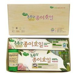 자연으로 친환경 GIFT SET 3-1호 (종이호일20m+종이호일 프라이팬35매+친환경수세미2매)