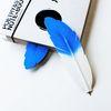 Blue Haptic penna 블루 깃털펜