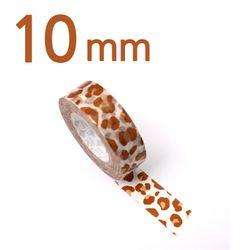 모노폴리 마스킹테이프 10mm [leopard camel]
