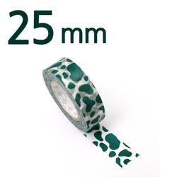 모노폴리 마스킹테이프 25mm [dalmatian peacock blue]