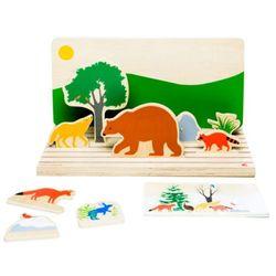 동물의 숲 (원목 인형극장)