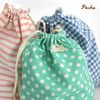 cotton pouch-stripe