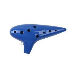 오카리나 Alto/C 보급형 (파랑)(오카리나용 가죽가방+운지표+스트랩)