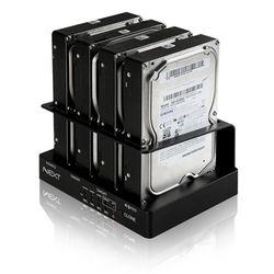 [MAXTEK] 4BAY 2.5인치 & 3.5인치 SATA HDD 도킹스테이션 HDD카피 6G속도