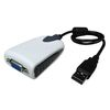 [MAXTEK] USB to VGA 컨버터 듀얼모니터 가능 프로젝터연결 노트북 울트라북연결 모니터분배