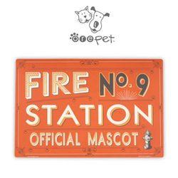 노스텔지아 까페펫 PP매트-파이어스테이션 넘버나인 M1278