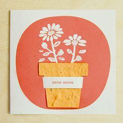 FLOWERPOT CARD - desert