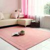 메모리폼 러그 사각 (200X150) - 핑크