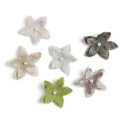 브로치 Pearl Flower