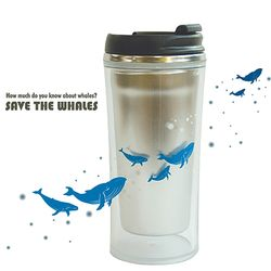 ECO STAINLESS TUMBLER-WHALE