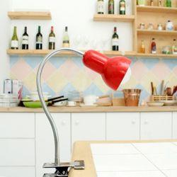 나나 집게형 스탠드 (레드 화이트 블랙 옐로우 핑크 베이비블루)+백열구(서비스)