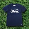 go outside tee navy