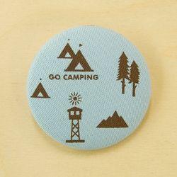 ECO BADGE ver.2 - camping