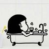 나른해 - 욕실화장실스파스티커