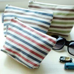 stripe pouch