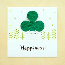 SEED CARD - Happiness