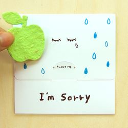 SEED CARD - Im Sorry
