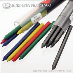 루비나또 우드 홀더 펜 5.6mm 리필심(흑심-RU2841  4색 칼라심-RU2842) - 우드 홀더펜(RU-350) 리필심