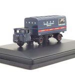 LNER Mechanical Horse (OXF686140BL) 트레일러 모형자동차