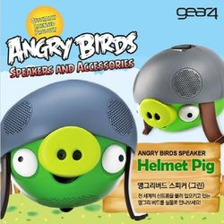Gear4 아이폰 아이팟 스마트폰용 앵그리버드 스피커-Angry Bird Speaker 헬멧피크
