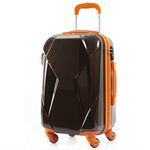 [Travel Mate] 체스터 TSA 여행가방 20인치(CL2296-20) - 브라운a