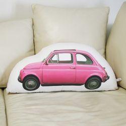 compact car-pink