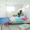 Cozy tri-color 컬러즈 핫핑크 침구 [홑겹SS-A]