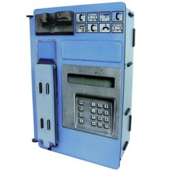 Telephone Station-blue