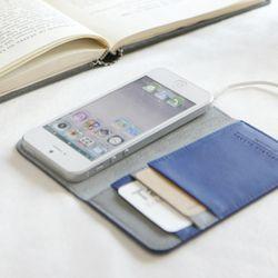 [친환경 아이폰 케이스] VG IPHONE 5/5S POCKET-blueberry
