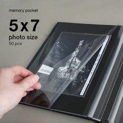 메모리 포켓 - 사진(5 x 7) 50장
