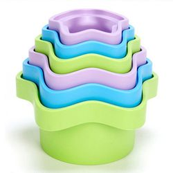 [그린토이즈]그린토이즈 수개념 별 컵 쌓기