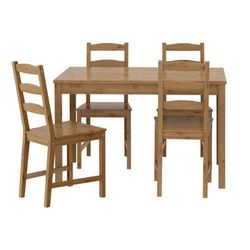JOKKMOKK Table and 4 chairs 4인용 식탁의자 세트 202.111.05  P12012000045