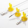 rabito Cable Holder(1pcs) Yellow