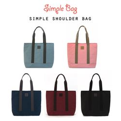 SIMPLE SHOULDER BAG