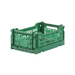 아이카사 폴딩박스 S dark green