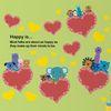 Kids D.I.Y Sticker -주주프렌즈의 사랑만들기