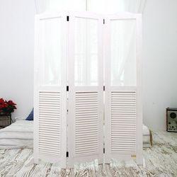 뉴질랜드소나무 패브릭파티션(white)