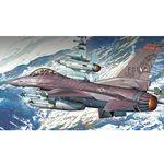 [아카데미하비] [아카데미과학 프라모델-ACF12204] 1:48 F-16C 파이팅팰콘 [플라잉 레이저 백스] (12204) 전투기