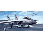 [아카데미하비] [아카데미과학 프라모델-ACFA003] 1:100 F-14A 톰켓 (12705) 전투기 비행기