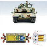 [아카데미하비] [아카데미과학 프라모델-AC13222] 1:35 대한민국 육군 주력전차 K1A1 [모터] 한국군 프라모델 밀리터리