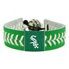 Chicago White Sox St. Patricks Day Baseball Bracelet