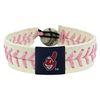 Cleveland Indians Pink Baseball Bracelet